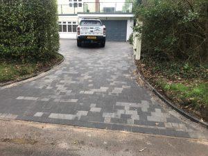 Tegula Paving Driveway in Canterbury