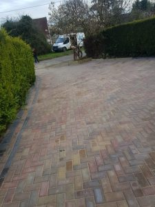Block Paving Driveway and Footpath in Ruckinge, Ashford