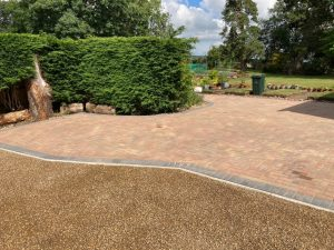 Block Paving Driveway and Patio in Charing, Kent