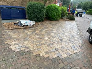 Block Paving Extension in Kings Hill, Kent