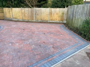 Brindle and Charcoal Block Paving Driveway in Ashford