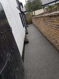 Resin Bound Footpath in Dymchurch, Kent