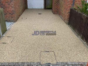 Resin Bound Driveway and Patio in Ashford, Kent